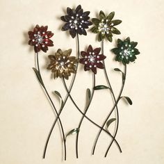 Flower Song Metal Wall Art