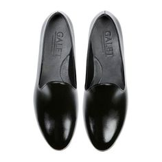 Gala black loafers, soon available at Catawiki