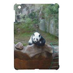 Panda Bear iPad Mini Cases - cyo diy customize unique design gift idea
