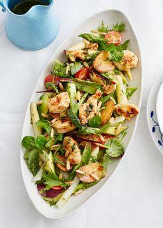 Salat mit Spargel und Kräuter-Vinaigrette - [ESSEN UND TRINKEN]