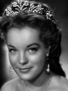 Romy Schneider as Sissi in Sissi Trilogie