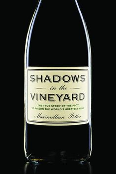 Shadows in the #Vineyard. #Winebooks