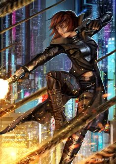 Sci Fi GunFighter by Bjiahao