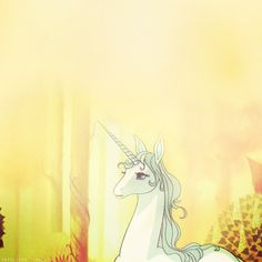 The last Unicorn. LOVED this movie when I was younger, but its so dark. and Awesome.