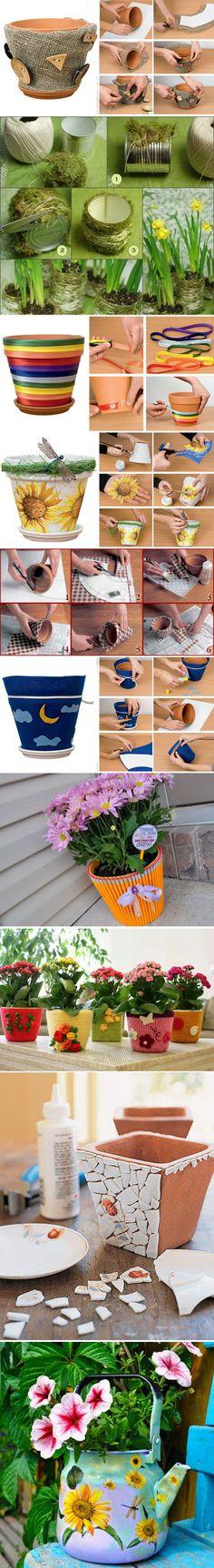 Handmade decoratiuni suport flori -Tutorial