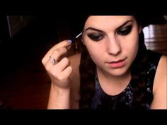 Wednesday Addams Makeup Tutorial--Why did we not find this before The Addams Family? Family Halloween, Halloween Crafts, Halloween Makeup, Halloween Costumes, Halloween 2015, Wednesday Addams Makeup, Makeup Tutorials Youtube, Twas The Night, Manicure At Home