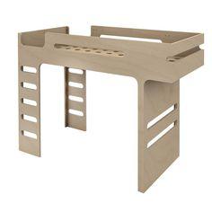Hochbett Doppelleiter Funk Bed Rafa Kids Kind- Große Auswahl an Design auf Smallable, dem Family Concept Store – Über 600Marken.