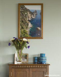 2 living looks: Sandra and Nicola's designer spaces | Habitat by Resene robin egg blue