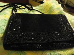 wonderful beaded even bag made in macau the beads great  9 w 6 L  Beautiful purse  Free Shipping Check out my other items! Ty  http://yardsellr.com/yardsale/Marla-Jones-198554