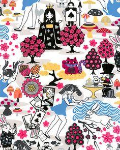 Alice in Wonderland - Trans Pacific Textiles.