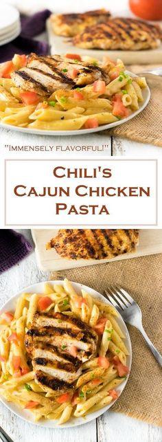 Chili's Cajun Chicken Pasta Recipe