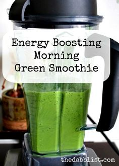 Best Energy Boosting Morning Green Smoothie for weight loss - Healthy Smoothie. Best Energy Boosting Morning Green Smoothie for weight loss – Healthy Smoothies For weight loss Smoothie Prep, Juice Smoothie, Smoothie Drinks, Detox Drinks, Healthy Smoothies, Healthy Drinks, Healthy Recipes, Kale Smoothie Recipes, Vitamix Green Smoothie
