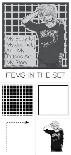 """""""My Body Is My Journal, And My Tattoos Are My Story."""" by otakugirlyz ❤ liked on Polyvore featuring art"""