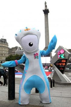 Mandeville the mascot poses during the International Paralympic Day at Trafalgar Square on September 8, 2011 in London, England. The day marks the start of Paralympic tickets going on sale on September 9, 2011. Photo: Jan Kruger, Getty Images / 2011 Getty Images