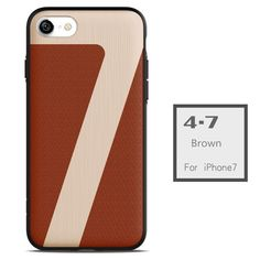 High-end Business Case for iPhone 7 Metal/Leather