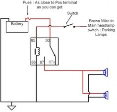 10 best wiring aux lights images on pinterest electric pickup rh pinterest com