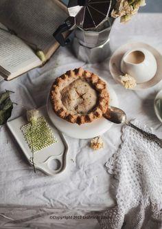 Orange Jam and Banana Pecan Shortbread Pie