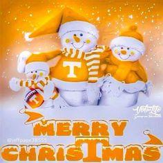 Tennessee Volunteers Football, Tennessee Football, University Of Tennessee, East Tennessee, Football Team, Christmas Items, Merry Christmas, Off Your Rocker, Tn Vols