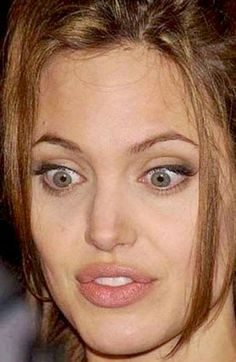 Expressions of Angelina Jolie
