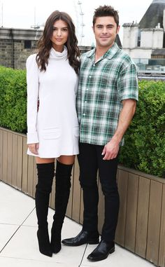 Emily Ratajkowski & Zac Efron from The Big Picture: Today's Hot Pics  The cute co-stars promote We Are Your Friends at London's Corinthia Hotel.