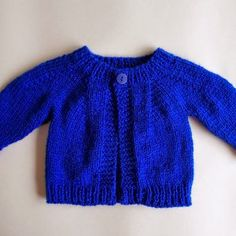 Top Down Raglan Baby Sweater | Baby sweaters, Knit baby sweaters ...