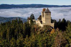 Kašperk Castle, The Czech Republic Renaissance Architecture, Baroque Architecture, Old Mansions, Fairytale Castle, Kirchen, Great View, World Heritage Sites, Czech Republic, Monument Valley