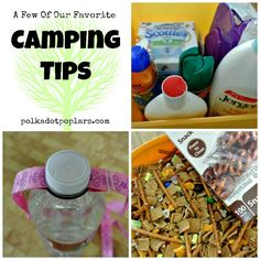 Camping Tips from www.polkadotpoplars.com #camping #howto #recipes