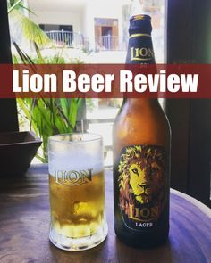 Sri lanka Lion Beer Review www.drinkingondimes.com