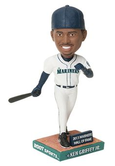 Ken Griffey Jr. Hall of Fame Night. First 20,00 fans take home a Griffey bobblehead, courtesy of ROOT Sports. 8/10/13 #Mariners vs. #Brewers