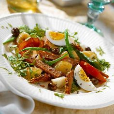 Freybe Simple Nicoise Salad
