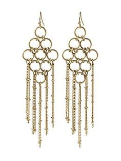 Hive & Honey Circle Link Earring | Piperlime