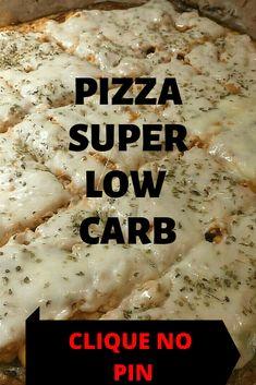 Menu Dieta, Food, Tasty Food Recipes, Meal Recipes, Healthy Pizza, Low Carb Diet Menu, Recipes, Pizza, Food Items