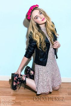 Be inspired by Sabrina Carpenter's full EXCLUSIVE photo shoot HERE!