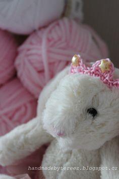 Bunny, crochet, blanket, princess, pink for baby ...http://handmadebytereez.blogspot.cz/