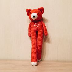 Long-Legged Amigurumi Fox   mine @ http://www.ravelry.com/people/emisante