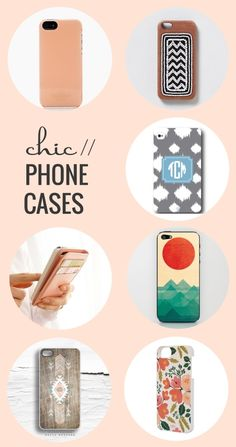 Shopping // Chic Phone Cases