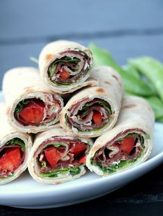 LINDASTUHAUG - det skal vere en opptur med sunn mat! Fresh Rolls, Quinoa, Tapas, Panna Cotta, Brunch, Food And Drink, Breakfast, Health, Ethnic Recipes