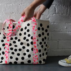 Polka Dots to go @ iheartprintsandpatterns