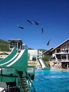 How the U.S. Freestyle #Ski Team Trains During the #Summer...