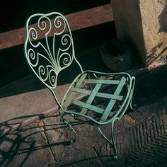 """""""Peacock"""" wrought iron chair by effebiweb.com"""