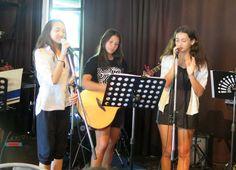 Berkeley's Rock music performance high school 2016 at the Moose in Bangkok