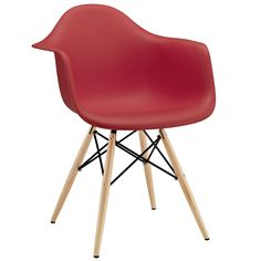 Pyramid Dining Armchair EEI-182-RED