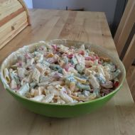 Lehký těstovinový salát recept