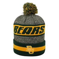 cc6c9508623 Cuffed Baylor University Bears Knit Hat with Pom