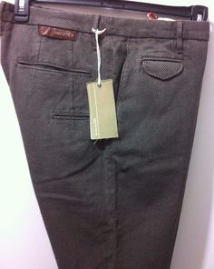 NWT$475 Incotex (Slowear)Italy luxury urban legend chinos, Fit is 52/36W #INCOTEX #UrbanluxuryCasualPants