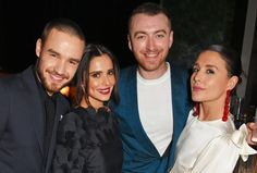: Liam, Cheryl, Sam Smith, and Jessie Ware at the Universal Music after party Jessie Ware, Sam Smith, Liam Payne, Cheryl, I Love Him, Handsome, The Incredibles, Singer, Music
