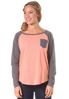 BILLABONG Womens Lola L/S T-Shirt georgia peach #planetsports