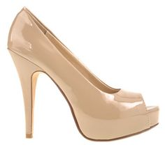 Think i'm gonna buy these fabulous pumps!! Chinese Laundry - Hotness in Nude Patent