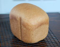 Recipe: Honey Whole-Wheat Sandwich Bread (for bread machine)  I am buying a darn bread machine maker and making this bread. forget sour dough by hand, full of refined sugar and corn oil... over trying to make that recipe work.