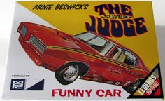 The Super Judge MPC #784 1/25 Scale New Car Model Kit AMT